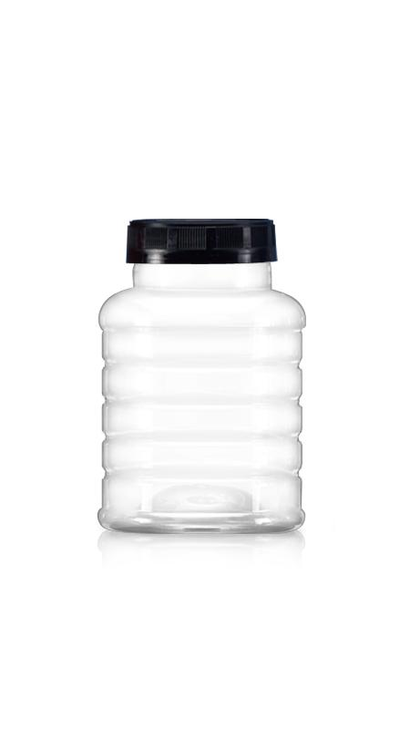 PET 63mm Series Wide Mouth Jar (B604)