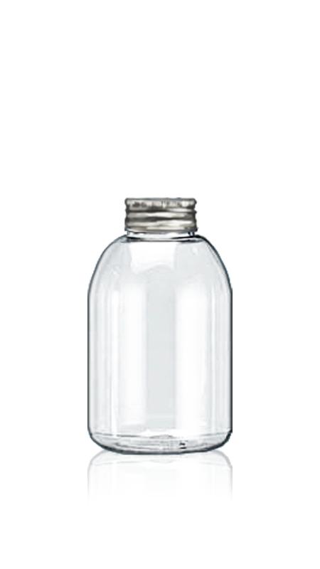 PET 32-mm-Flaschen der runden Serie (32-70-330) - 341 ml runde PET-Flasche für kühle Teeverpackungen mit Zertifizierung FSSC, HACCP, ISO22000, IMS, BV