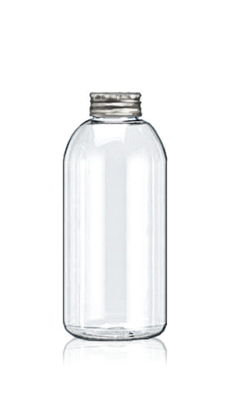 Sticle PET din seria rotundă de 32 mm (32-70-500) - Sticlă rotundă PET de 426 ml pentru ambalarea ceaiului rece cu certificare FSSC, HACCP, ISO22000, IMS, BV