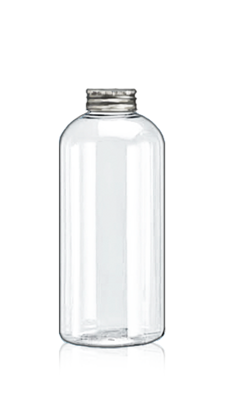 PET 32-mm-Rundflaschen (32-75-600) - 626 ml runde PET-Flasche für kühle Teeverpackungen mit Zertifizierung FSSC, HACCP, ISO22000, IMS, BV