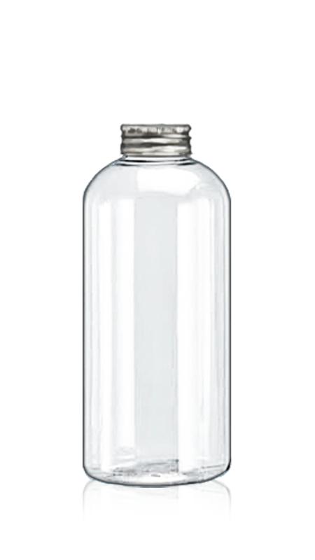 Sticle PET din seria rotundă de 32 mm (32-75-600) - Sticlă rotundă PET de 626 ml pentru ambalarea ceaiului rece cu certificare FSSC, HACCP, ISO22000, IMS, BV