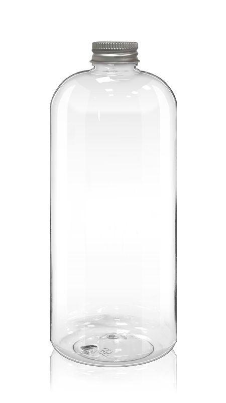 PET 32mm Round Series Bottles (32-86-1000) - Pet-Plastic-Bottles-Round-Bottle-32-86-1000