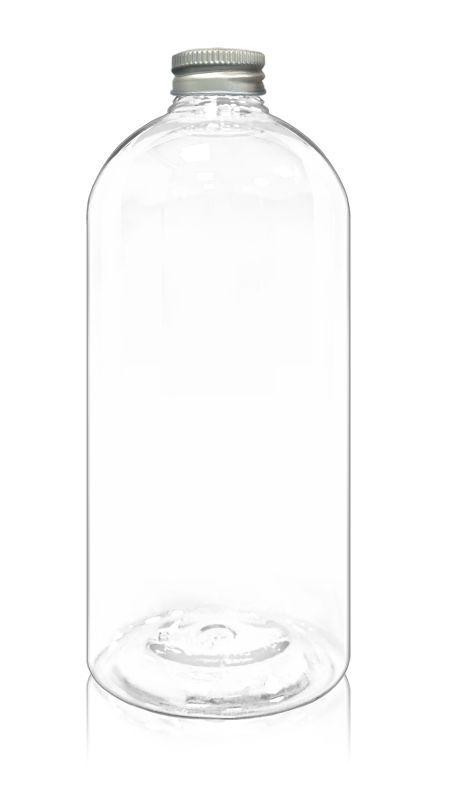 PET 32mm Round Series Bottles (32-95-1001) - Pet-Plastic-Bottles-Round-Bottle-32-95-1001