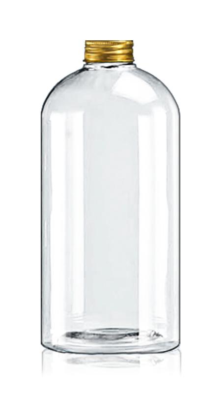 Sticle PET rotunde de 32 mm (32-95-1001) - Sticla ovală PET de 1022 ml pentru ambalarea ceaiului rece cu certificare FSSC, HACCP, ISO22000, IMS, BV