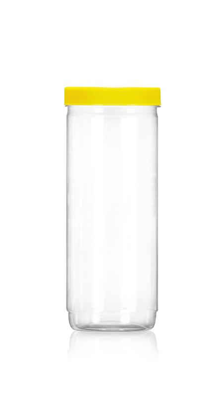 PET 89mm Series Wide Mouth Jar (D1207) - Pet-Plastik-Botol-Bulat-D1207