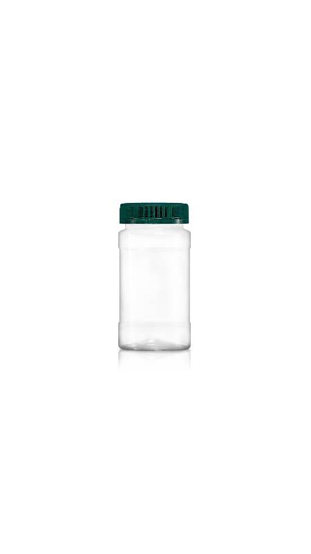 PET 53mm Series Wide Mouth Jar (F230) - Pet-Plastic-Bottles-Round-F230