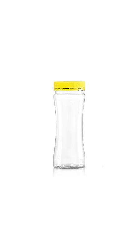PET 53 mm Weithalsdose (F260) - 270 ml PET Slim Round Jar mit Zertifizierung FSSC, HACCP, ISO22000, IMS, BV