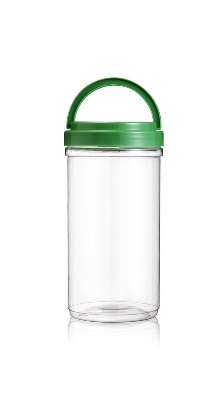 PET 120mm Series Wide Mouth Jar (J2200) - Pet-Plastic-Bottles-Round-J2200