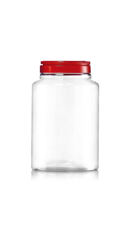 PET 120mm Series Wide Mouth Jar (J4400)