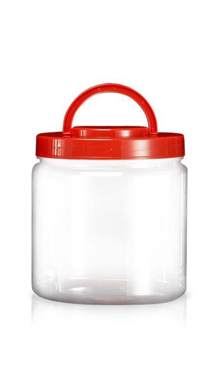 180mm PET 廣口罐 / 寬口罐 系列 (M5000) - Pet-Plastic-Bottles-Round-M5000