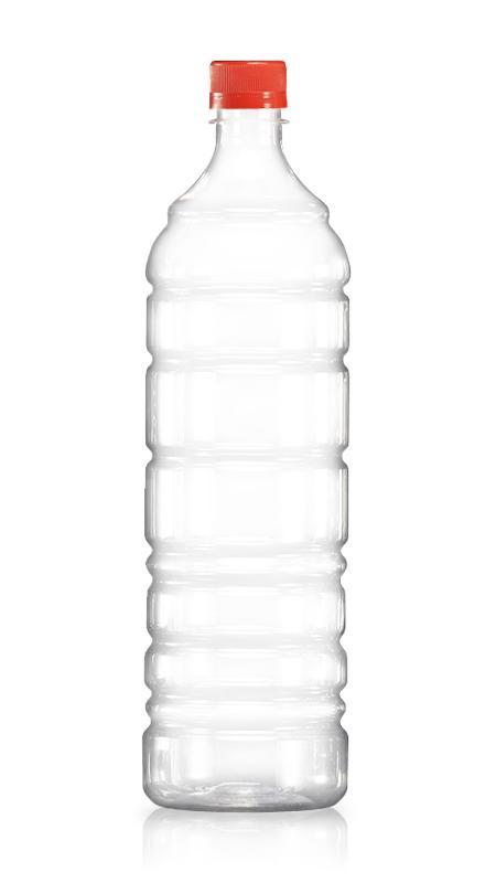 Sticle PET 28mm (W1250) - Sticlă de apă rotundă PET de 1250 ml cu certificare FSSC, HACCP, ISO22000, IMS, BV