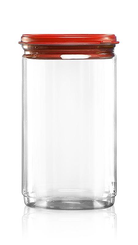PET 鋁質/塑膠易開罐系列 (W401-1300P) - Pet-Plastic-Bottles-Round-W401-1300P