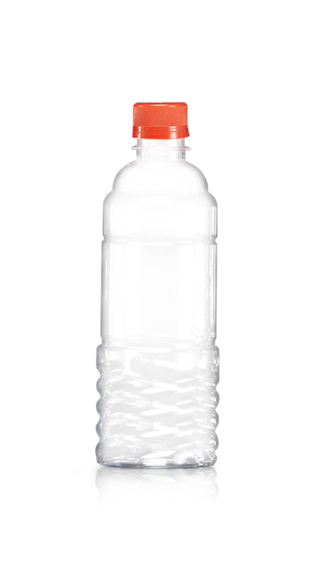 PET 28mm Series Bottles (W500) - 500 ml PET Round Water Bottle with Certification FSSC, HACCP, ISO22000, IMS, BV