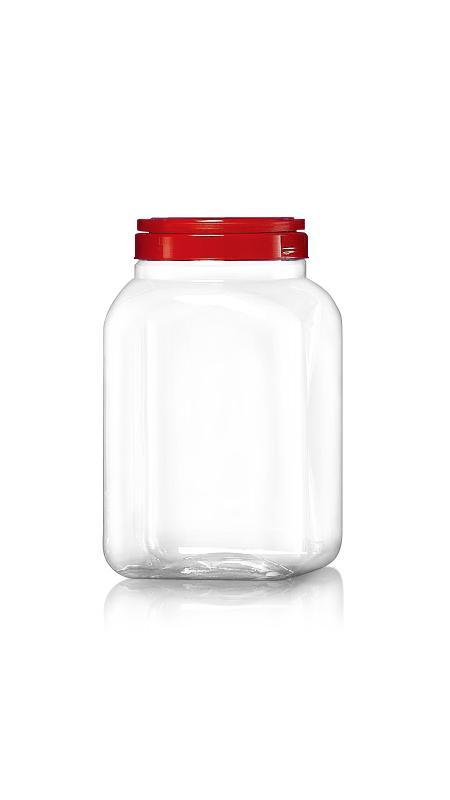 PET 120mm Series Wide Mouth Jar (J4004)