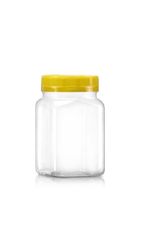 63mm PET 廣口罐 / 寬口罐 系列 (B394) - Pet-Plastic-Bottles-Square-B394