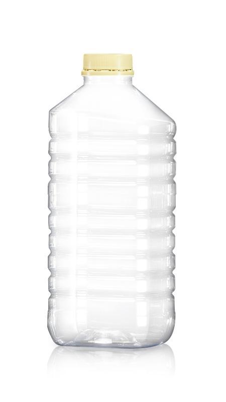 Andere PET-Flaschen (W2000) - Haustier-Kunststoff-Flaschen-Quadrat-W2000