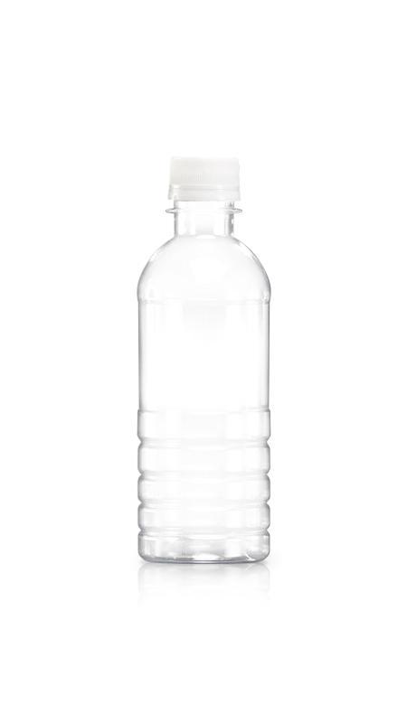 PET-Flaschen der 28-mm-Serie (W350) - 320 ml reine PET-Wasserflasche mit Zertifizierung FSSC, HACCP, ISO22000, IMS, BV