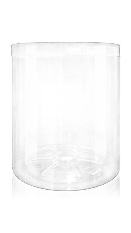 Containerul PET din seria S (140-1000) - Borcan PET din seria S de 2330 ml