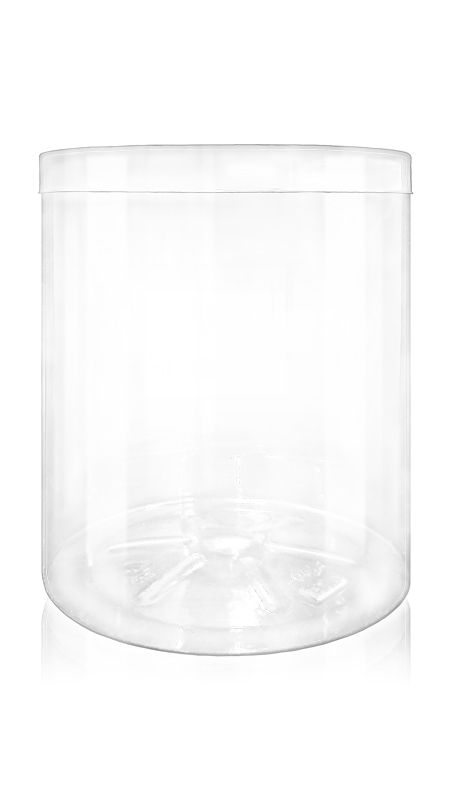 The S Series PET Container (140-1000) - 2330 ml S Series PET Jar