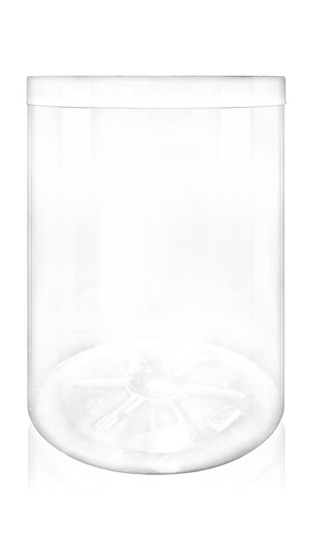 The S Series PET Container (140-1200) - 2770 ml S Series PET Jar