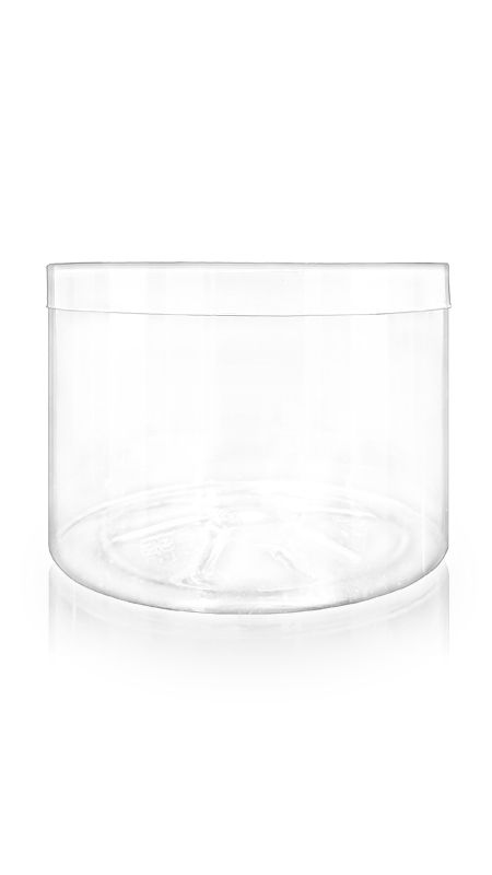 The S Series PET Container (140-600) - 1390 ml S Series PET Jar