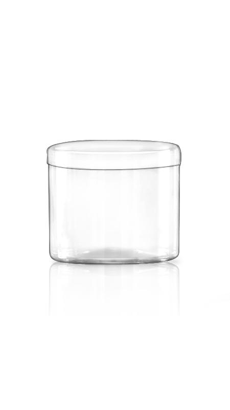 Containerul PET din seria S S14 - Borcan PET 500 ml Seria S