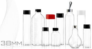 38-mm-Serie Getränkeflaschen