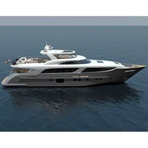 Monte Fino S 35M Custom Superyacht
