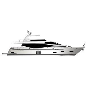 Monte Fino F82 Моторная яхта с флайбриджем