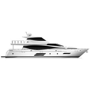 Моторная яхта Monte Fino F82 Skylounge