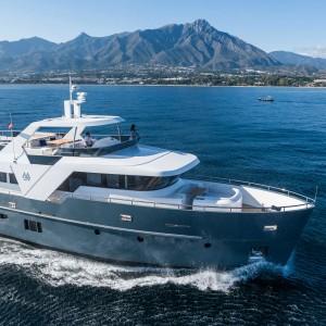 Monte Fino E85 ecHo Long Range Explorer yacht - MFY E85 ecHo