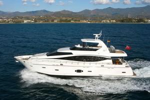 MF F76 Fly Motor Yachts