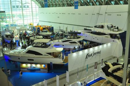 Visit Kha Shing booth at 2018 Taiwan International Boat Show (TIBS)