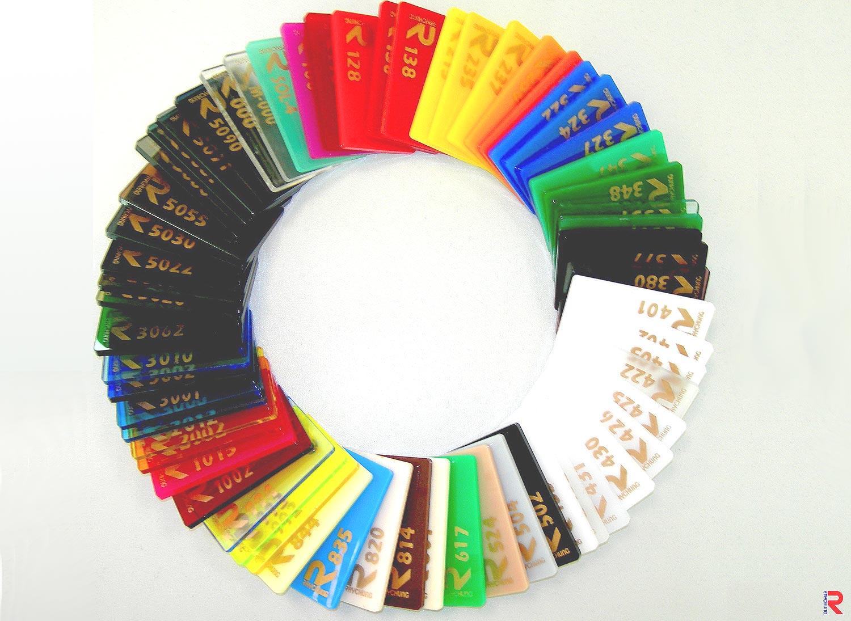 General Plexiglass - acrylic sheet samples