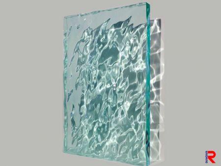 Water Rippled Acrylic Sheet
