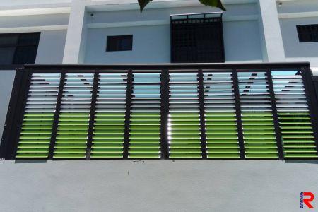 Acrylic shutter