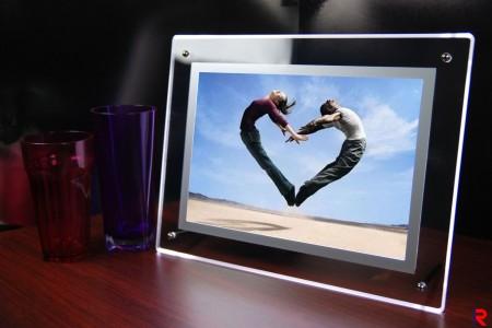 Acrylic crystal photo frame