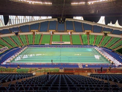 2017台北世界大學運動會國體大活動游泳池架高地板