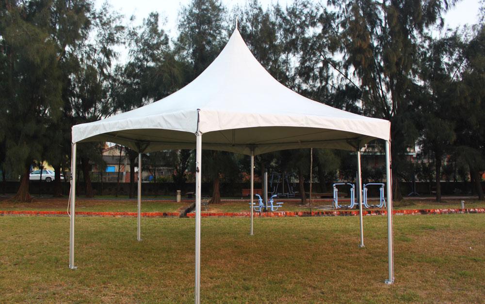 Tenda per cavi incrociati per gazebo esagonale - Tenda per cavi incrociati per gazebo esagonale