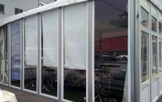 6M x 6M 轻量型翼板帐篷 - 6M x 6M Lightweight Glass Wall Tent