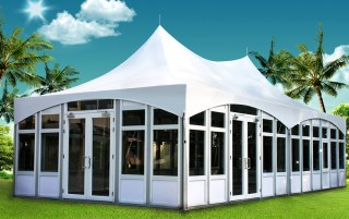 Glass Wall Tents - Taiwan high quality Glass Wall Tents