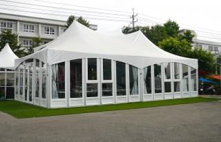 6M x 12M Lightweight Glass Wall Tent