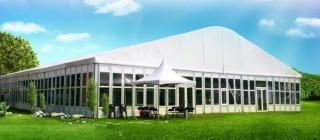 (15M.20M.25M) Large Lightweight Glass Wall Tent - 25Mx30M Glass Wall Tent