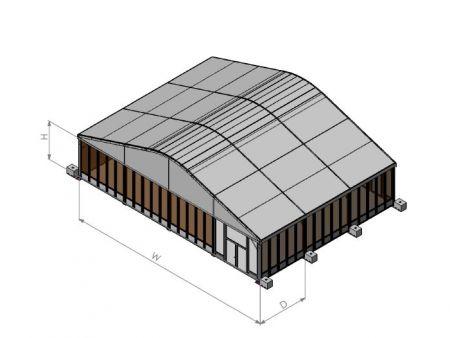玻璃翼板帳篷