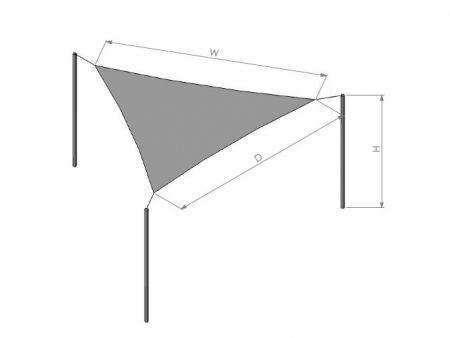 Sail Shade - UV protection awning