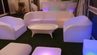 L-S31 LED Single Sofa