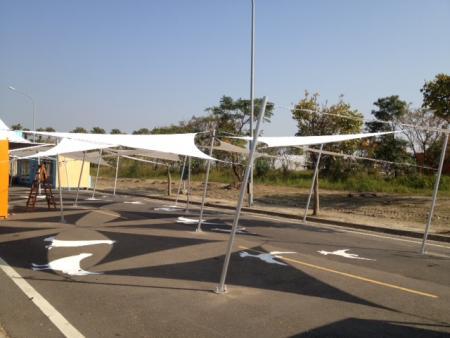 遮陽篷-雲林農博