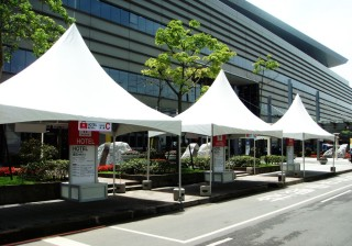 3M*6MCross Cable Tent