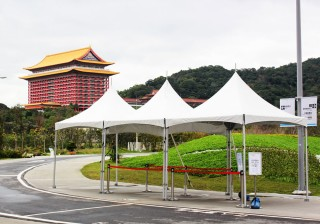 3M*6MCross Cable Tent-Taipei Flower Expo
