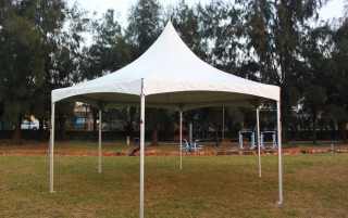 Tenda Hexagon Gazebo Cross Cable - Tenda Hexagon Gazebo Cross Cable
